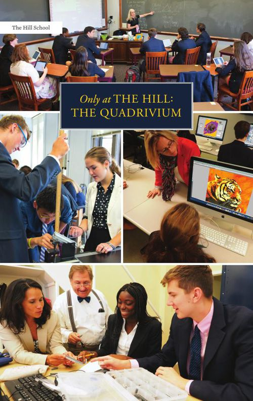 Only at The Hill: The Quadrivium