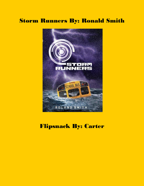 Storm Runners by Carter