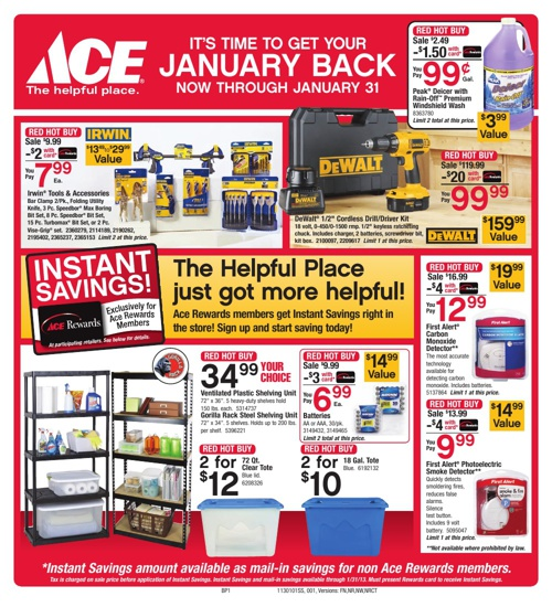 It's Time to Get Your JANUARY BACK! Now through January 31st.