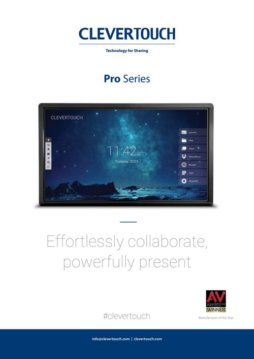 Clevertouch-Pro-Brochure
