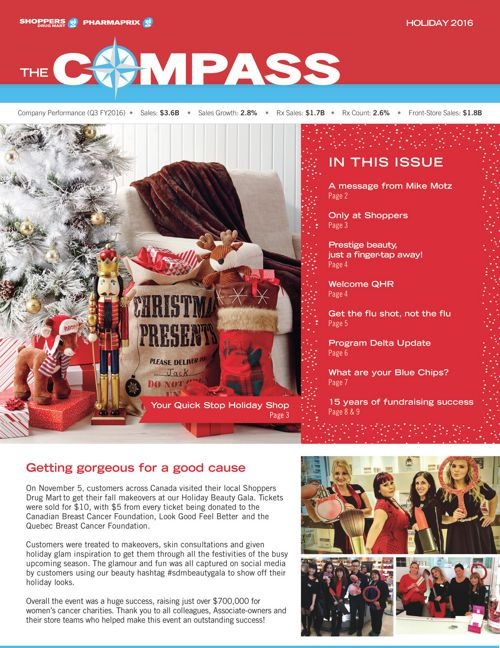 Compass - Holiday 2016