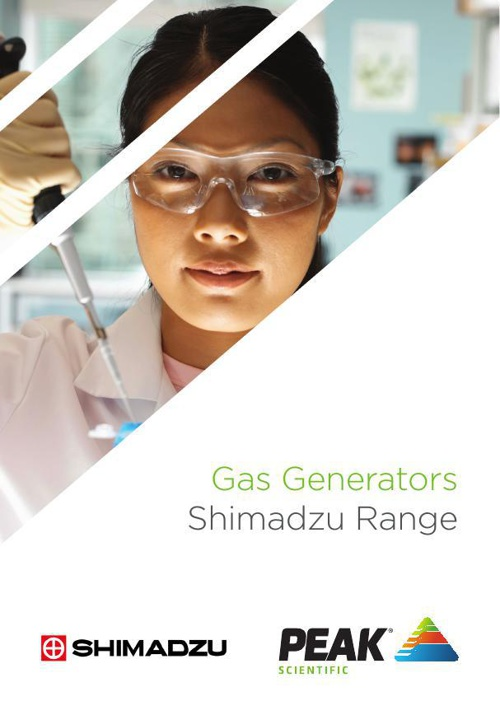 Peak Scientific Gas Generators - Shimadzu OEM Brochure Rev 5