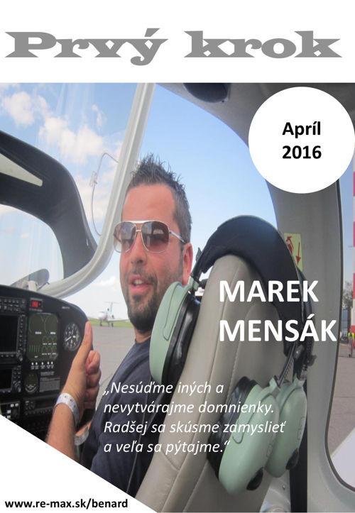 Prvý krok - apríl 2016 - časopis