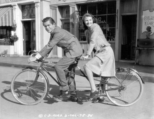 Celebrities Riding Bikes