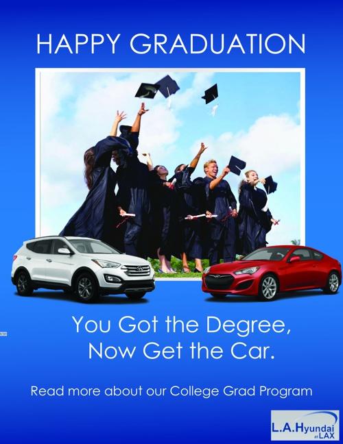 LA Hyundai at LAX College Grad Program