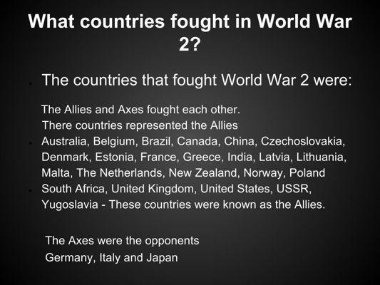 Miss Paton's World War 2 Presentation (4)