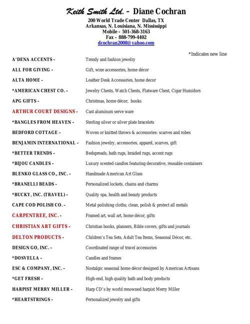 2015 Mar Line Sheet