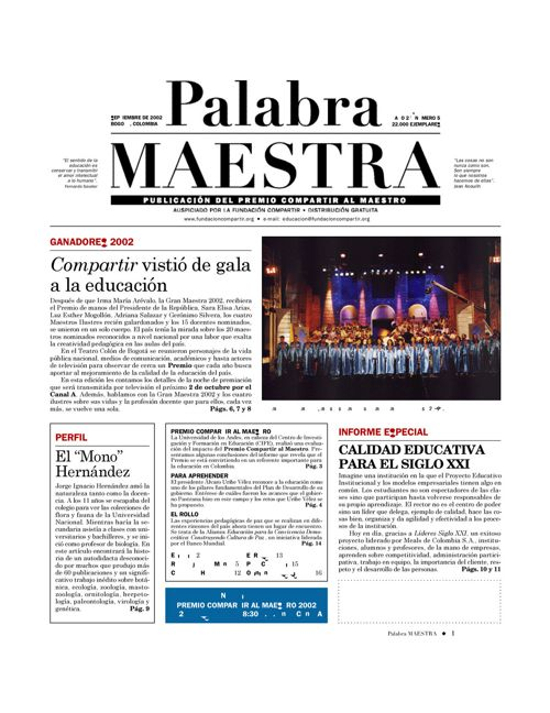 Palabra Maestra, Edición 5