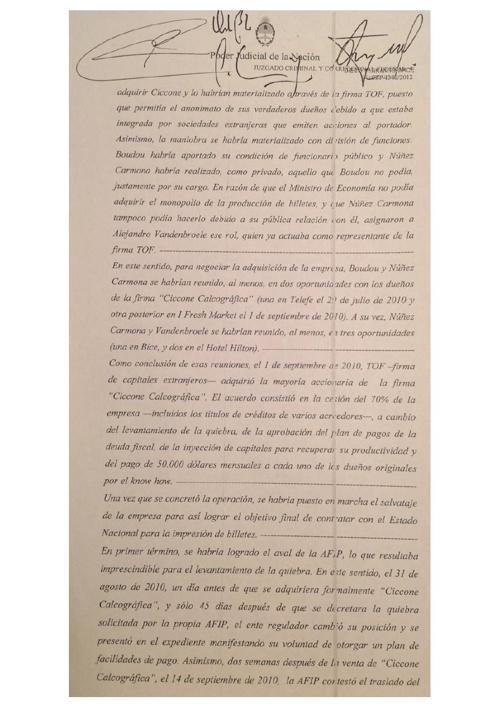 Declaración Boudou