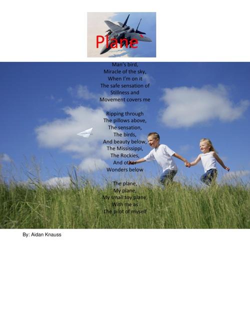 Mrs. Jagels' Class- Memoir Poems