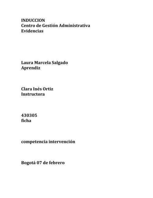 Evidencia Laura Salgado