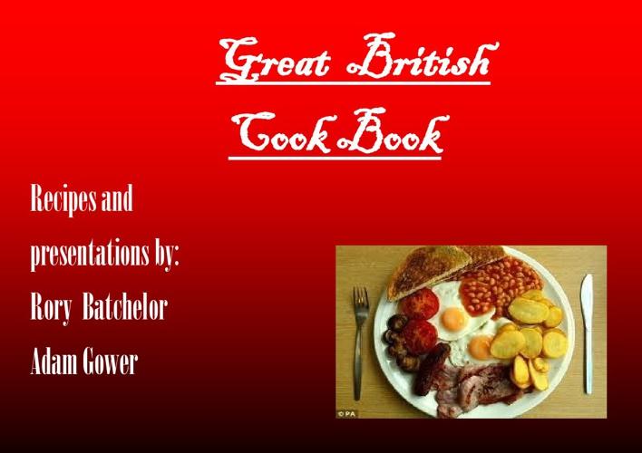 Great British Cook Book