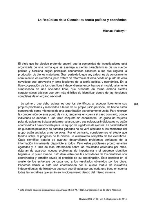 VOL09/N27 - Polanyi