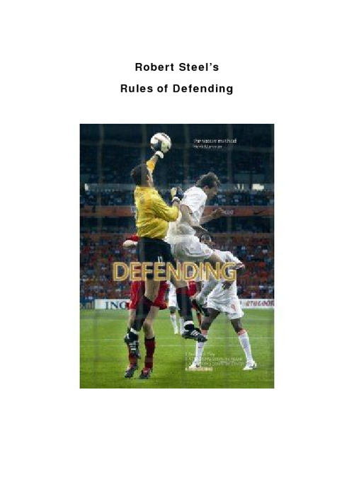 Rules Of Defending