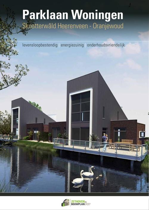 Parklaan woningen Heerenveen-Oranjewoud