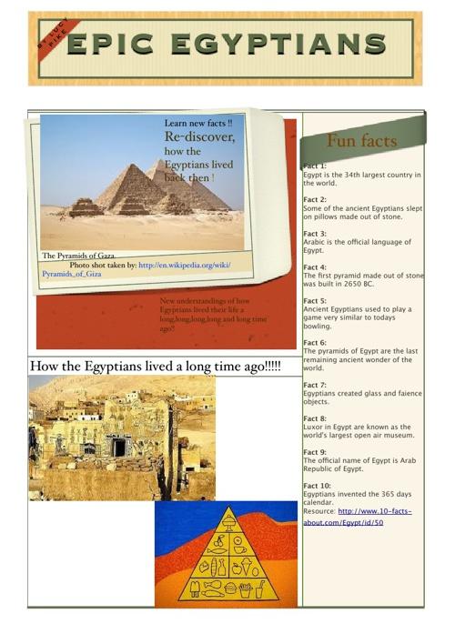 Epic Egyptians