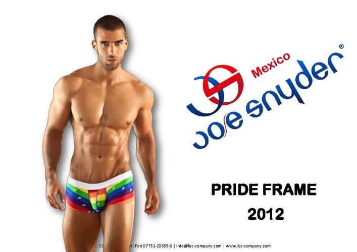 Joe Snyder: Pride Frame 2012
