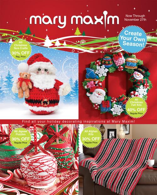 Mary Maxim 11-07-13 Ad