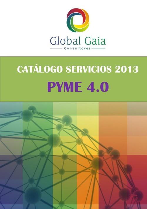 CATÁLOGO 2013. SERVICIOS de INNOVACIÓN. PYME 4.0