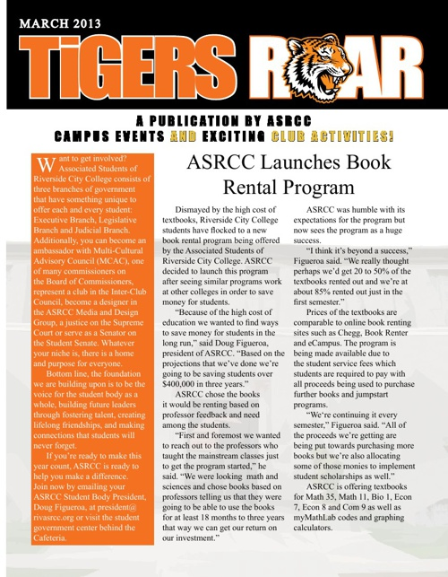 ASRCC-Newsletter