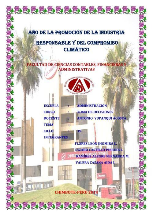 Diagnóstico Situacional  Empresa Farmacia San Luís S.A_Toma De D