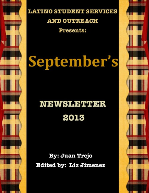 September's Newsletter