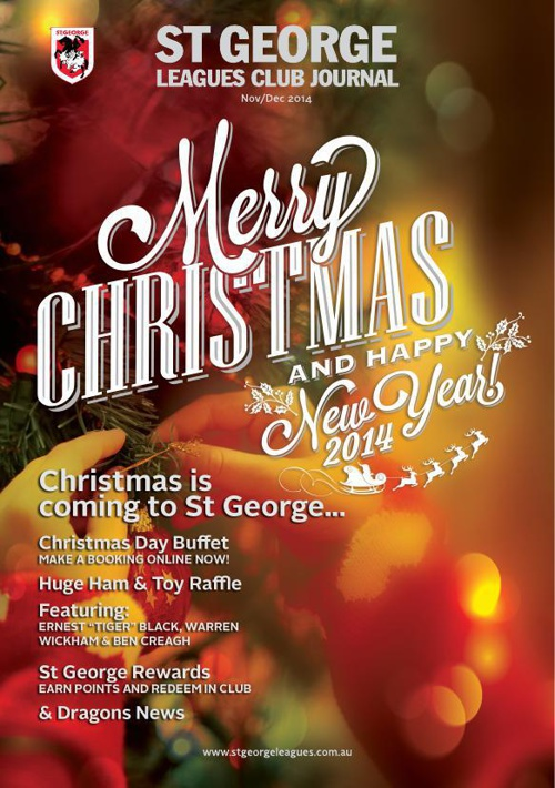 St George Leagues Club Journal November/December 2014