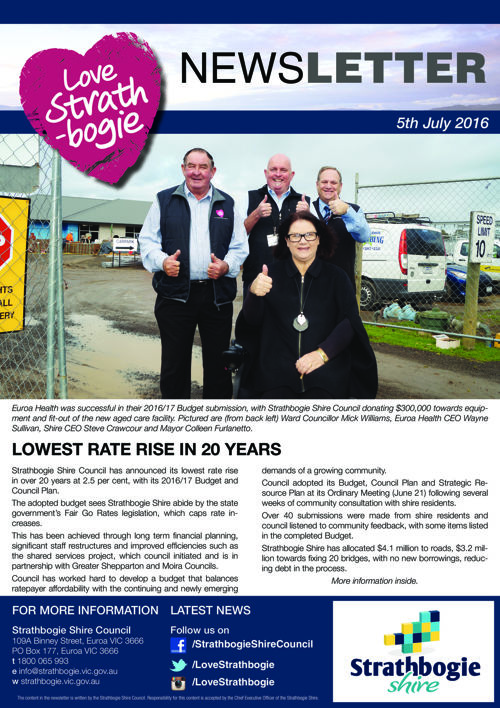 Love Strathbogie Newsletter 01072016