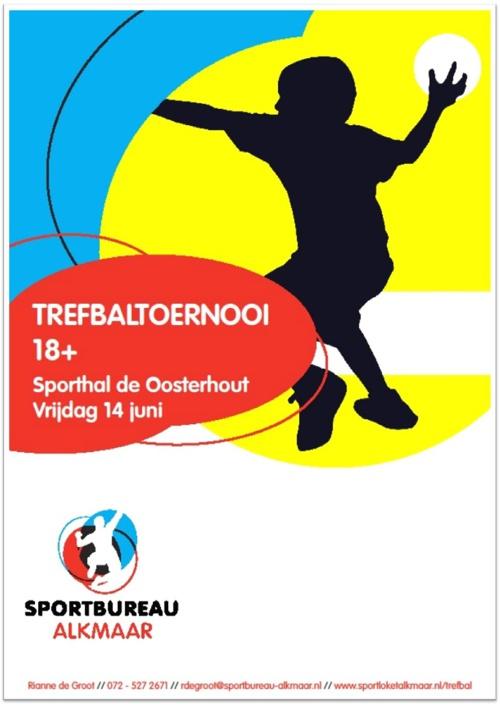 Programmaboekje Trefbaltoernooi 18+