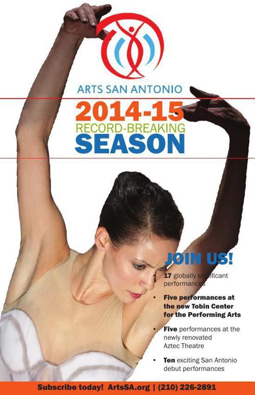 ARTSSA SEASON BROCHURE 2014-15