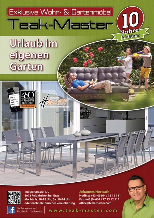 Teak-Master Garten Katalog