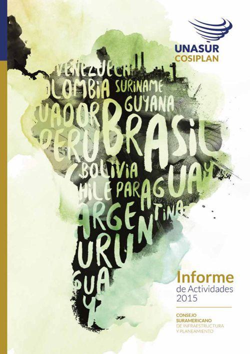 Informe de Actividades del COSIPLAN 2015