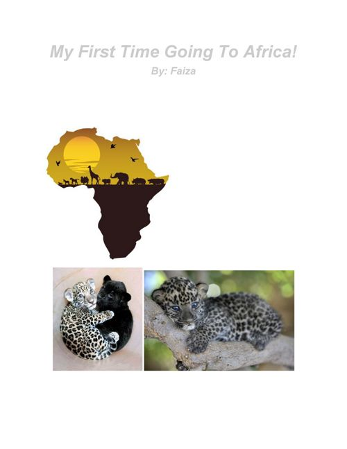 First going to Africa (1)