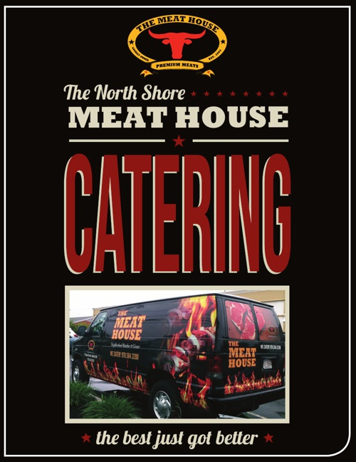The Meat House in Beverly's Catering Menu