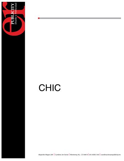 PUBLICACIONES CHIC-CIAO