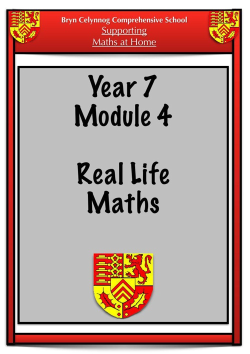 Year 7 Module 4 Booklet