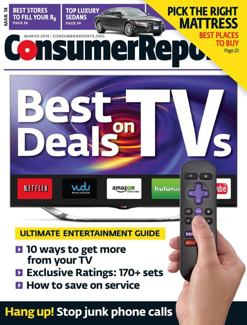 Consumer Reports - March 2014  USA