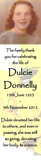 Dulcie Donnelly Sample 2