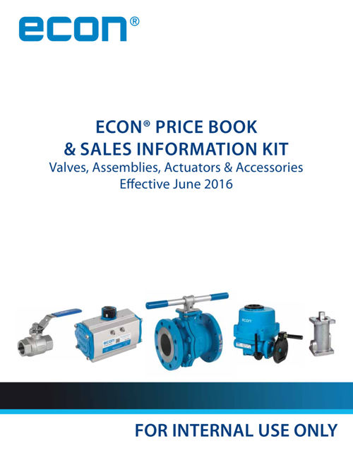 ECON Price Book and Sales Info Kit