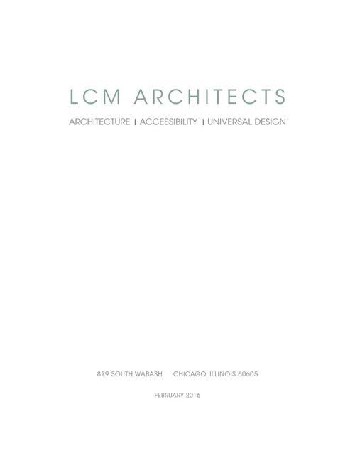 LCM ARCHITECTS FRIM INFORMATION 02082016