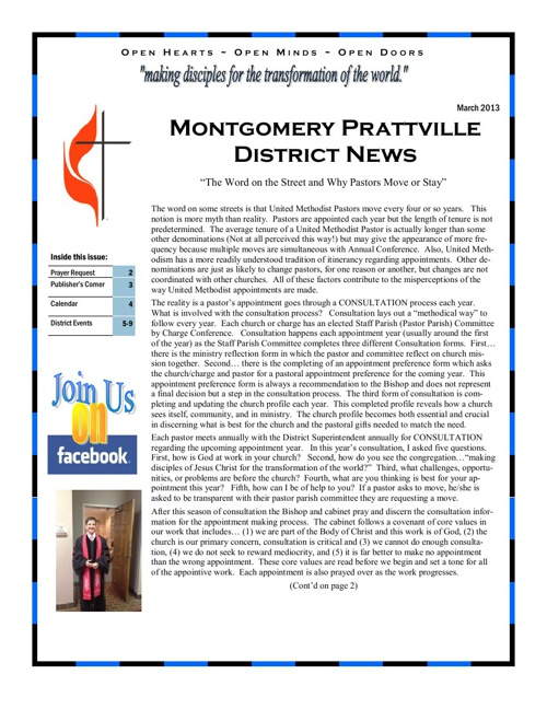 MTPT March 2013 Newsletter