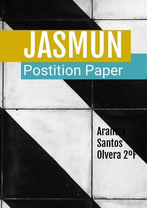 Position Paper JASMUN