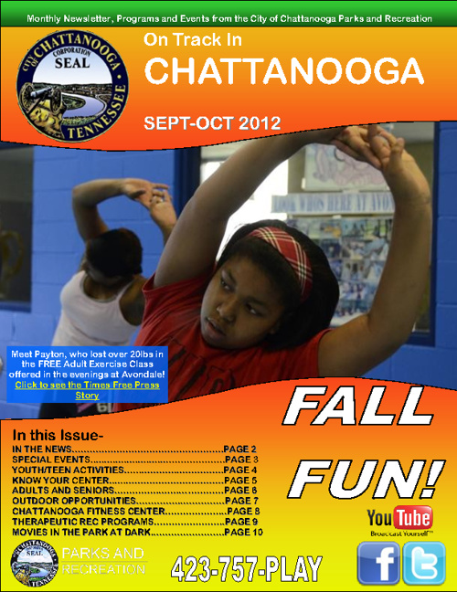 September-October Addition of ON TRACK in Chattanooga!