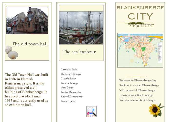 Comenius - Blankenberge presentation