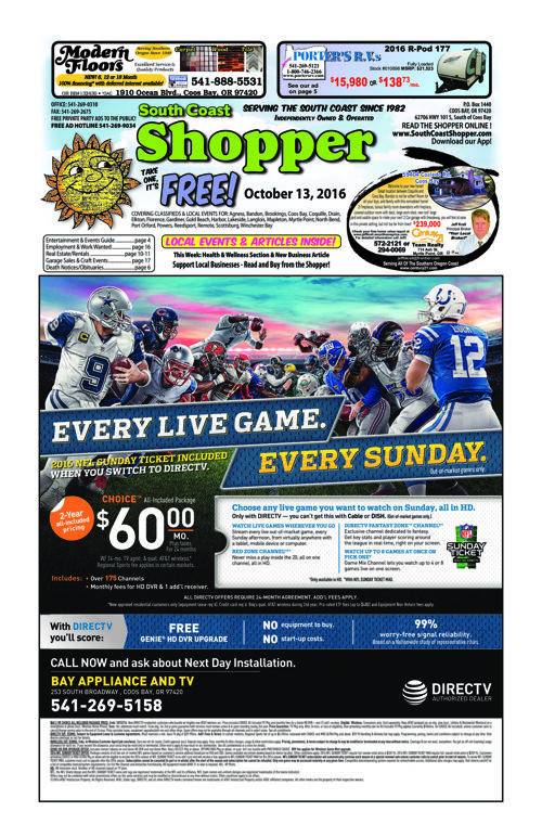 South Coast Shopper e-Edition 10-13-16