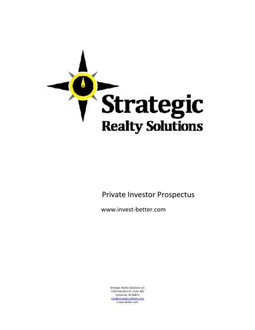 Strategic Realty Solutions LLC
