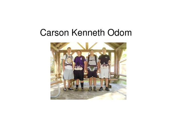 Carson Kenneth Odom