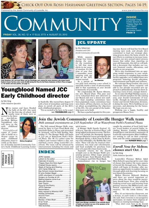 COMMUNITY in Print | August 23, 2013