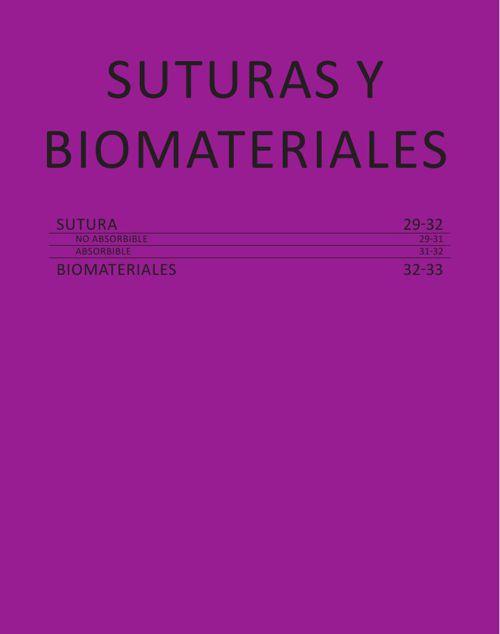 SUTURAS Y BIOMATERIALES- CAT. GRAL. 2015 CASA SCHMIDT