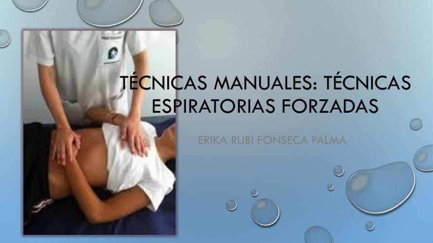 Técnicas manuales 2